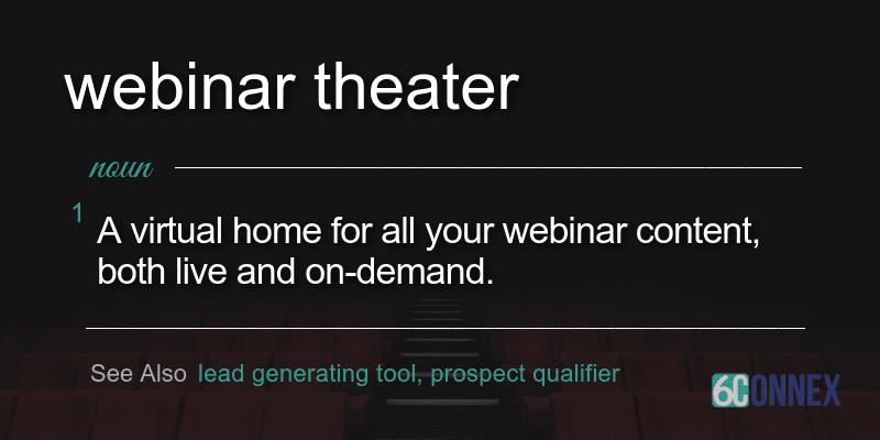 what is a webinar theater