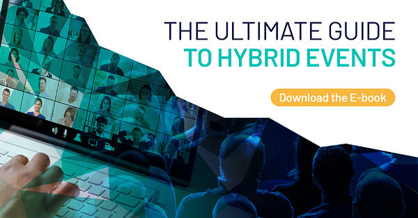 ultimate guide to hybrid events ebook banner