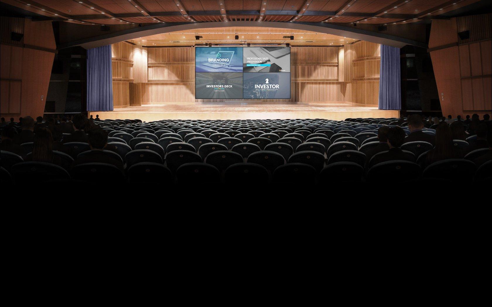 auditorium E screen 325 x 180