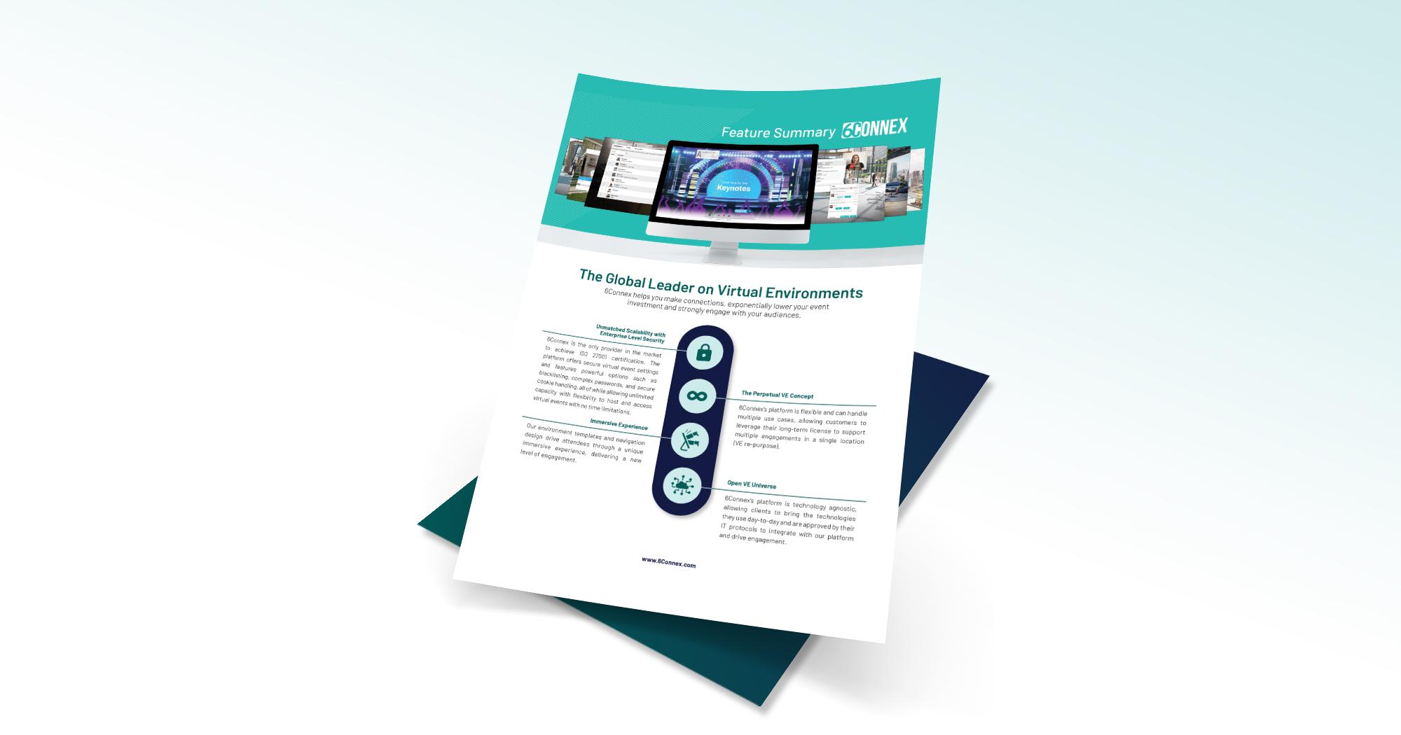 6connex virtual event platform features