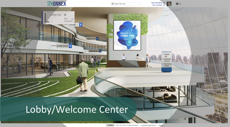 6connex virtual event platform upgrade