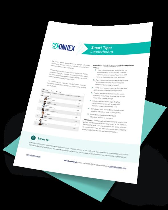 leaderboard program tip sheet