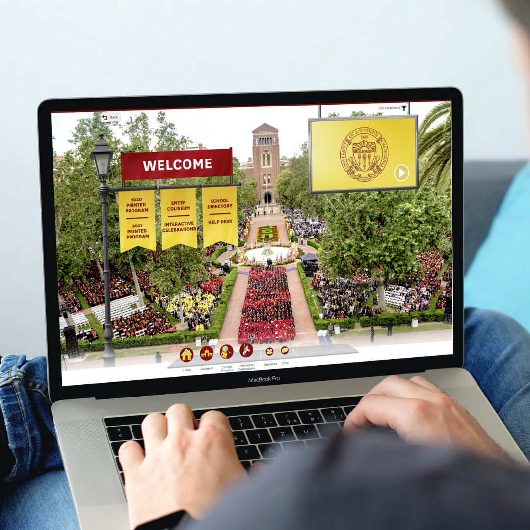 university of southern california virtual commencement ceremony on 6connex platform